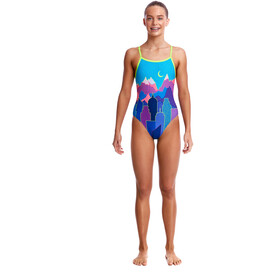 Funkita Single Strap One Piece Bañador Niñas, metropolis